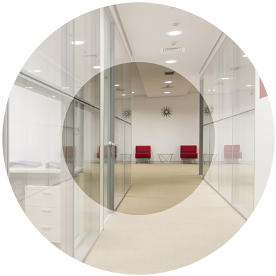 Demountable partitions by Parker Ceilings