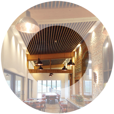 Full fit-out by Parker Ceilings
